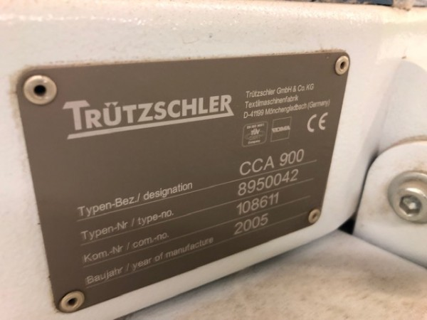 Cotton cards TRUTZSCHLER TC03 - Second Hand Textile Machinery 2005