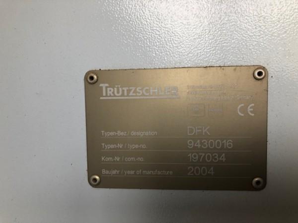 Carde coton TRUTZSCHLER TC03  - Occasion 2005