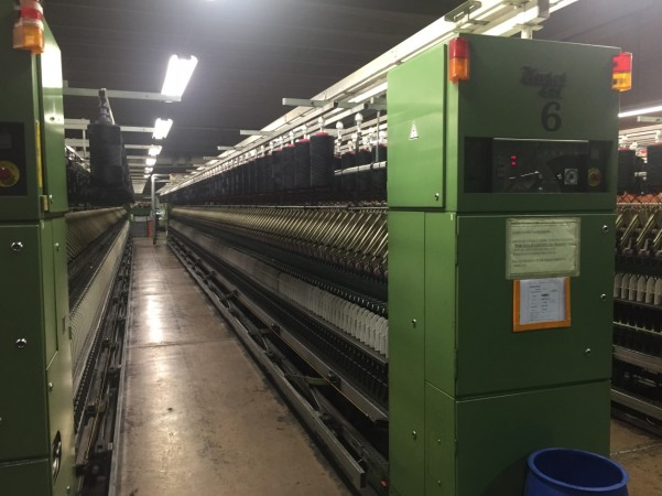 ZINSER worsted spinning frame type 421 E  - Second Hand Textile Machinery 1993