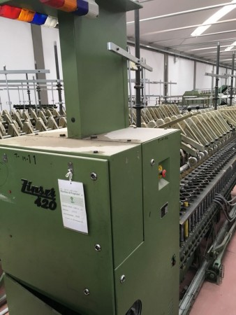 ZINSER worsted spinning frame type 420  - Second Hand Textile Machinery 1989