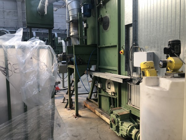 mixing chamber LAROCHE . - Second Hand Textile Machinery 1998