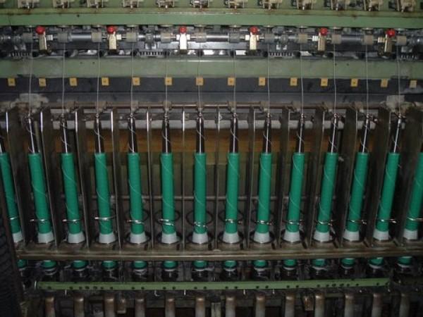 Continu à filer laine cardée GAUDINO FBTE linké avec bobinoir  - Occasion 1995