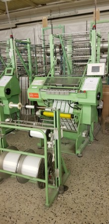 MULLER MDR 42 Lace Crocheting machine  - Second Hand Textile Machinery 2004 / 2007