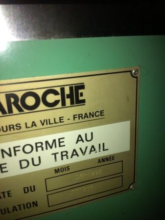 Condenseur LAROCHE .  - Occasion 1992