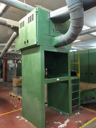 Condensor TRUTZSCHLER LVSA - Second Hand Textile Machinery 1994/1996