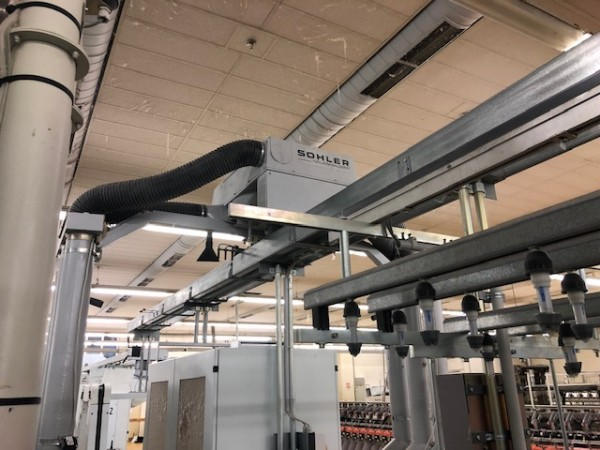 Cotton ring frames ZINSER RM 351 - Second Hand Textile Machinery 2002