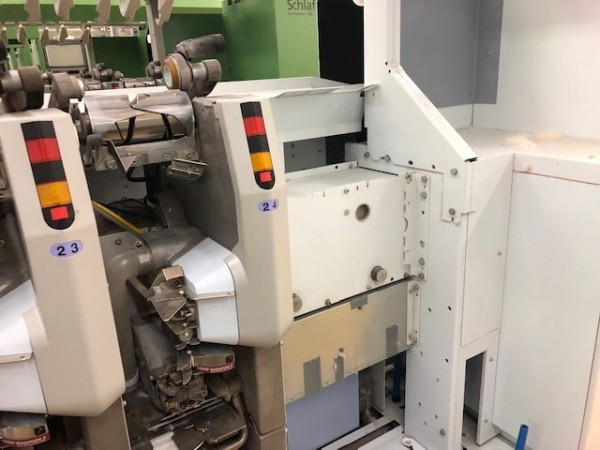 Cotton ring frames ZINSER RM 351 - Second Hand Textile Machinery 2007