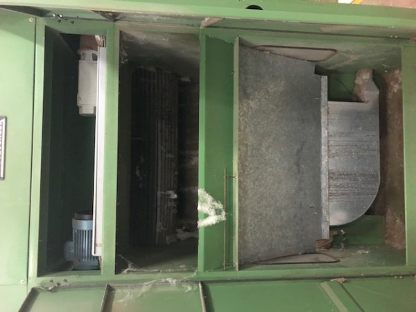 Cotton openers TRUTZSCHLER CNT 1 - Second Hand Textile Machinery 1997
