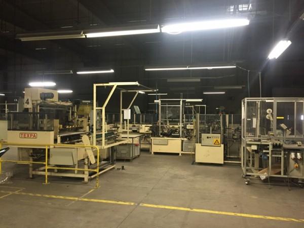 Automate de coupe et couture pour éponge TEXPA .  - Occasion 1997