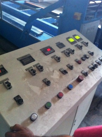 cross lapper AUTOMATEX . - Second Hand Textile Machinery 1998