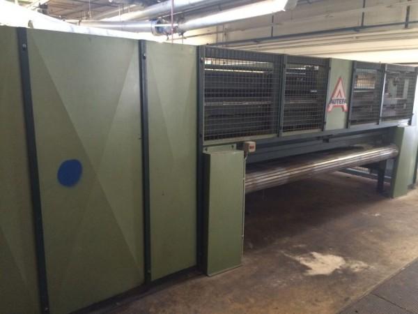 AUTEFA T17 cross lapper  - Second Hand Textile Machinery 1989