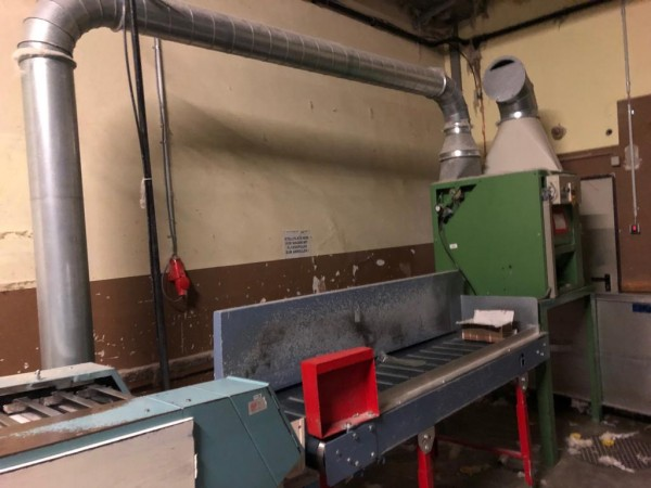 cleaning tubes machine MANNHART . - Second Hand Textile Machinery