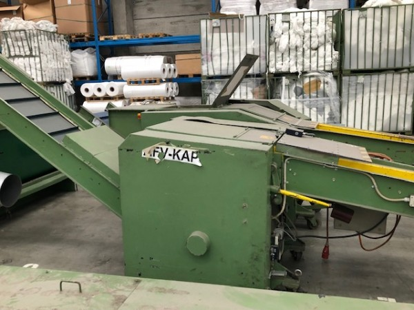 Cutting machine COSMATEX . - Second Hand Textile Machinery