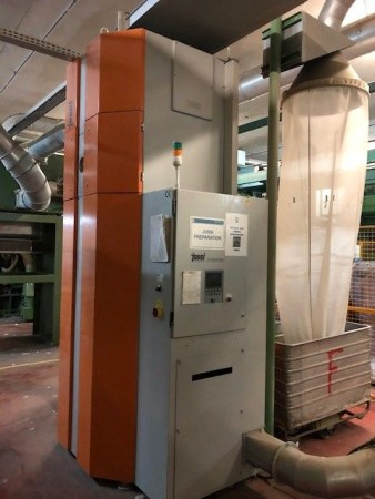 Foreign Fiber Detection JOSSI . - Second Hand Textile Machinery 2005