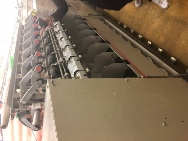 Two for one twisting machine VOLKMANN VTS09 - Second Hand Textile Machinery 1999