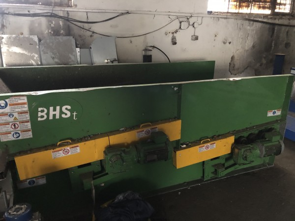 BHS model DRS Debris Roll Screen - Second Hand Textile Machinery 2017
