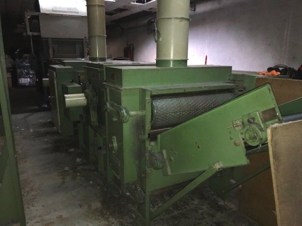 tearing machine LAROCHE JUNIOR - Second Hand Textile Machinery 1977