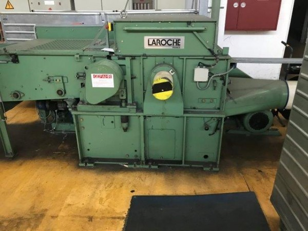 Opening / tearing machine LAROCHE CADETTE - Second Hand Textile Machinery 1992