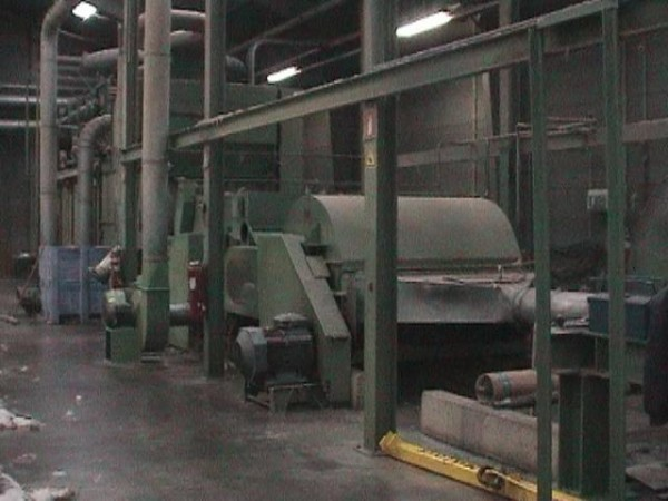 ROLANDO tearing machine  - Second Hand Textile Machinery 1995