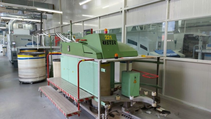 Drawing machines RSB D30 RIETER - Second Hand Textile Machinery 1999