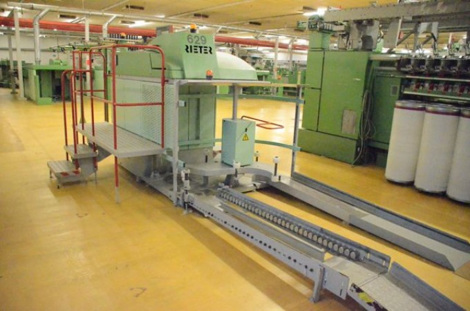 Drawing machine RIETER SBD 10 - Second Hand Textile Machinery 2001