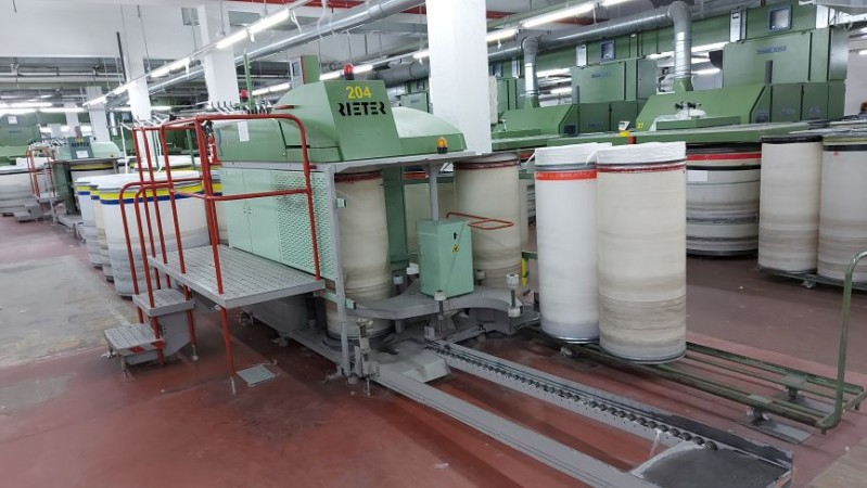 Drawing machines RIETER RSB D35 - Second Hand Textile Machinery 2003