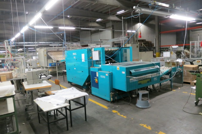 Folder PIZZARDI MEKOS . - Second Hand Textile Machinery 2000