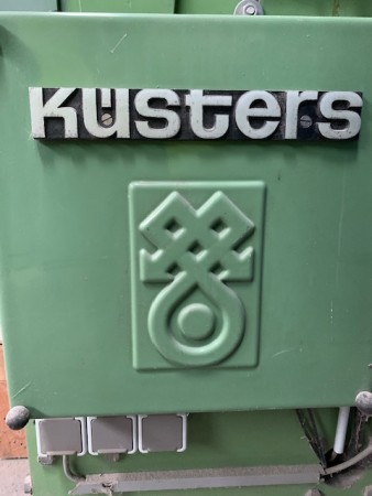 Squeezing padder KUSTERS . - Second Hand Textile Machinery 1983