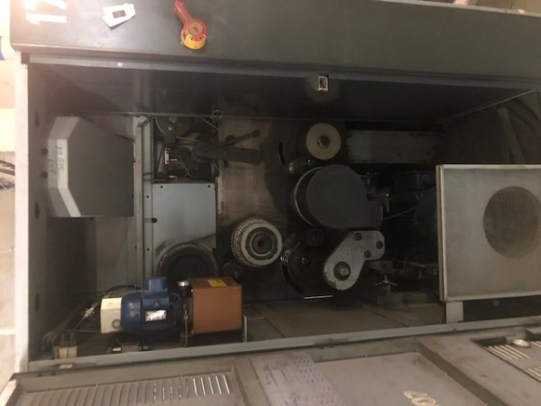 set of Gillbox SC 400 COGNETEX - Second Hand Textile Machinery 1988