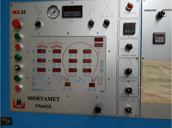 MORTAMET Napping machine  - Second Hand Textile Machinery