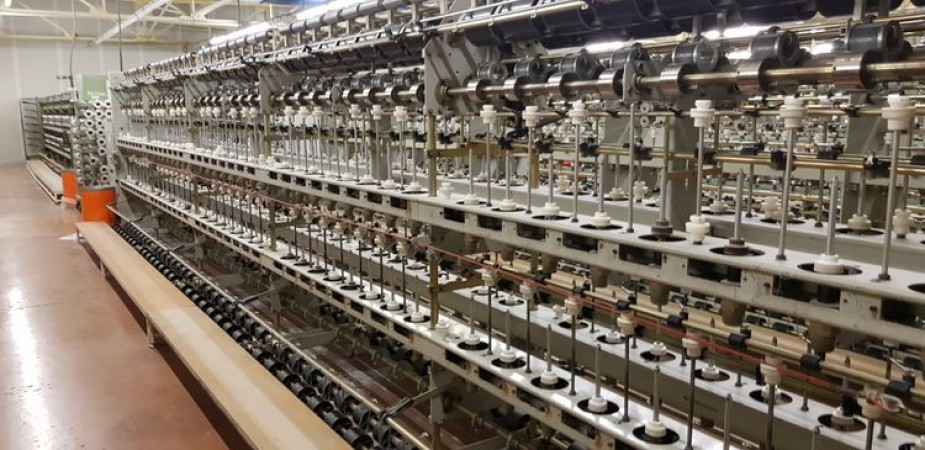 OMM double covering machine - Second Hand Textile Machinery 1999