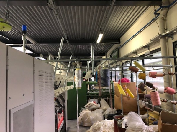 hollow spindle twisting machine SAURER ALLMA ESP-1 - Second Hand Textile Machinery 1995