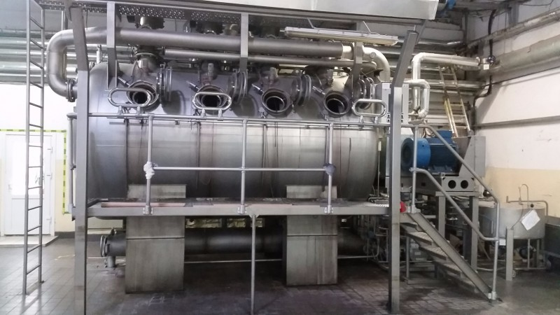 LUFT ROTO PLUS High temperature  overflow THIES . - Second Hand Textile Machinery 2003