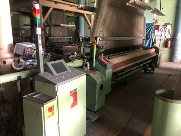 DORNIER PTV Jacquard weaving looms  - Second Hand Textile Machinery 2006