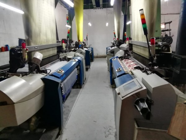 PICANOL GAMMAX Jacquard weaving looms  - Second Hand Textile Machinery 2003