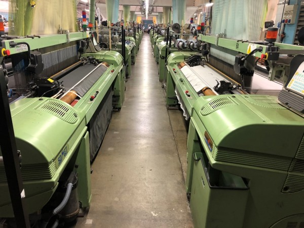 Jacquard weaving looms SOMET Super Excel - Second Hand Textile Machinery 2002