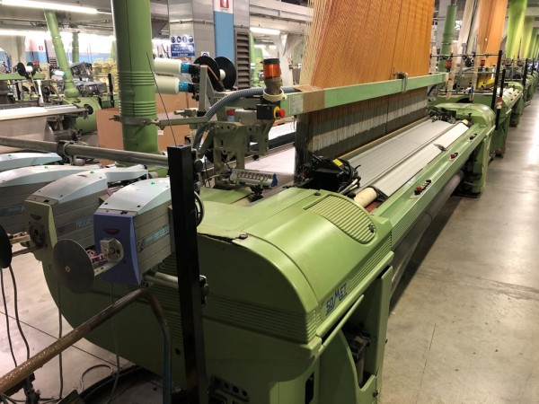 Jacquard weaving looms SOMET Super Excel - Second Hand Textile Machinery 1998
