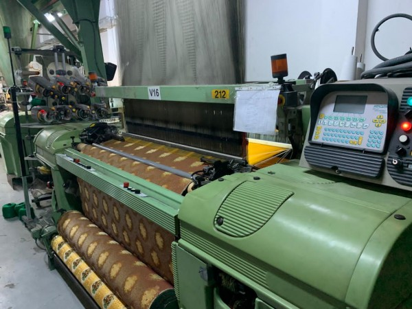 SOMET Super Excel Jacquard weaving looms  - Second Hand Textile Machinery