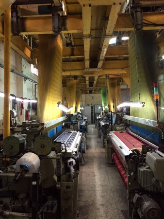 Jacquard weaving loom SOMET MASTER 93 - Second Hand Textile Machinery 1989