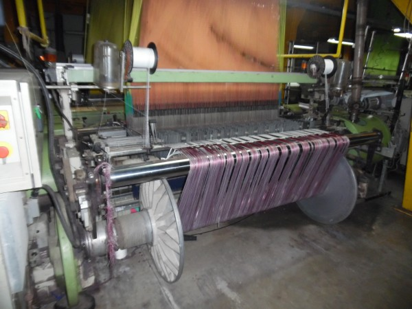SOMET EXCEL and Super Excel Jacquard weaving looms - Second Hand Textile Machinery 1999
