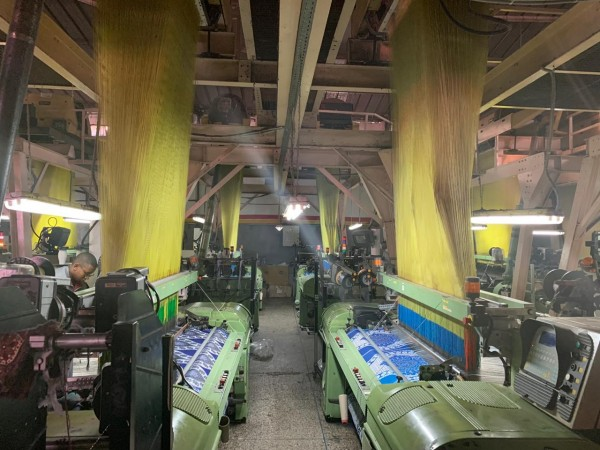 SOMET EXCEL Jacquard weaving looms - Second Hand Textile Machinery 1998