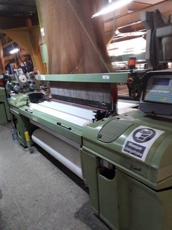 SOMET EXCEL Jacquard weaving looms - Second Hand Textile Machinery 1996-1977