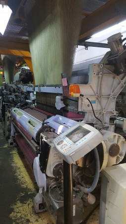 SOMET ALPHA PGA Jacquard weaving looms  - Second Hand Textile Machinery 2007/2009