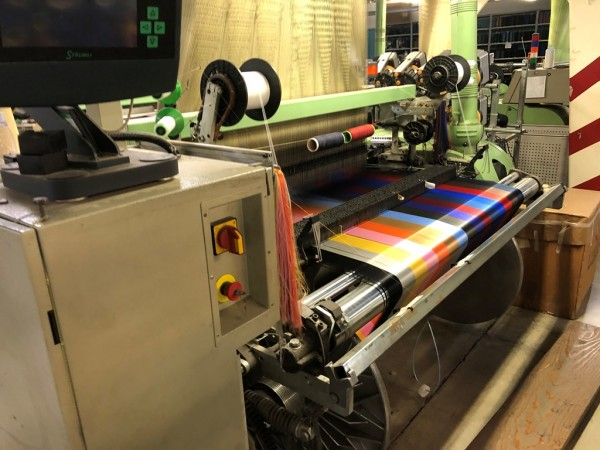 Jacquard weaving looms SOMET SUPER EXCEL HTP - Second Hand Textile Machinery 2001