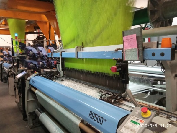 ITEMA R9500 Jacquard weaving looms - Second Hand Textile Machinery 2017