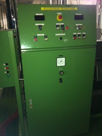 Laboratory padder KUSTERS FLUIDYER - Second Hand Textile Machinery 1990