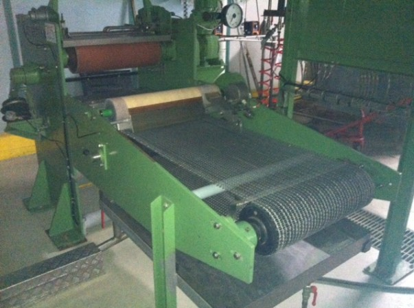 Laboratory or coating padder KUSTERS . - Second Hand Textile Machinery 1990
