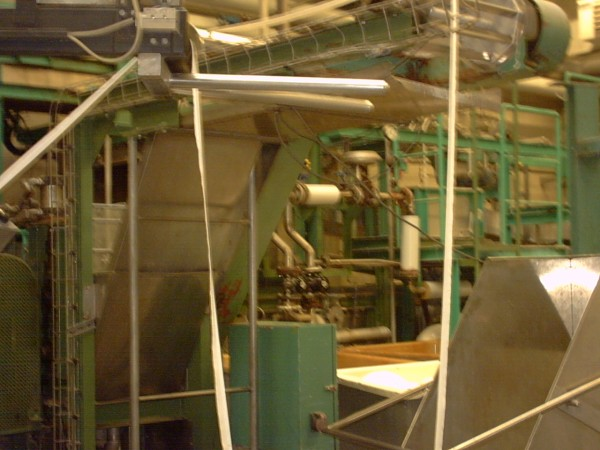 NISSHIN DENKI washing line model NDS-3FC - Second Hand Textile Machinery 2000