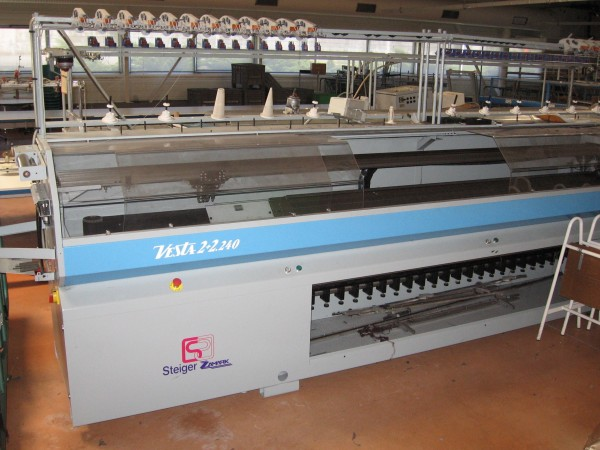 Auction sale : Knitting plant - Second Hand Textile Machinery