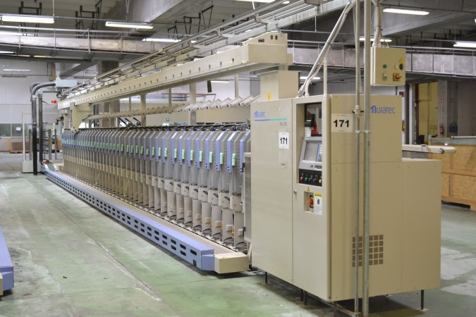 Open End spinning and Dyeing plant ORLANDI Group - Second Hand Textile Machinery